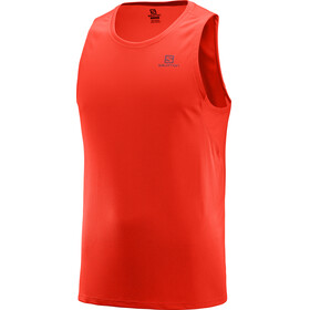 Salomon Agile Tank Men fiery red